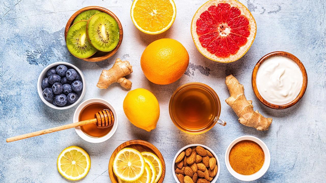 Bağışıklık güçlendirici besinler ve yiyecekler nelerdir?