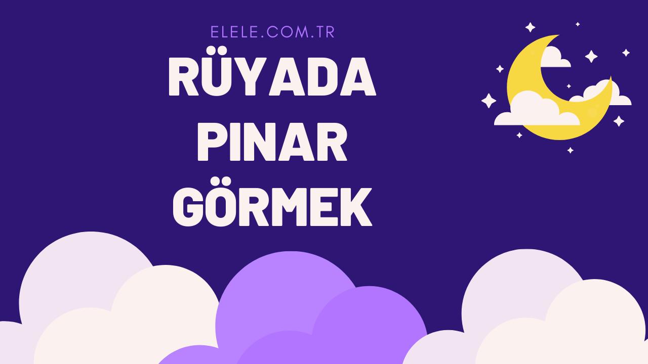 Rüyada Pınar Görmek Ne Anlama Gelir?