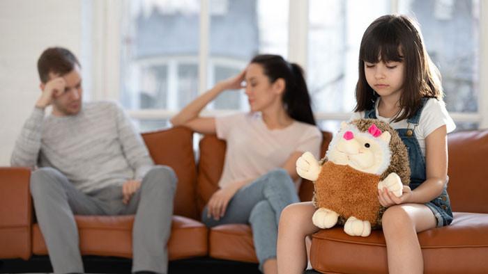 çocuk önünde tartışma