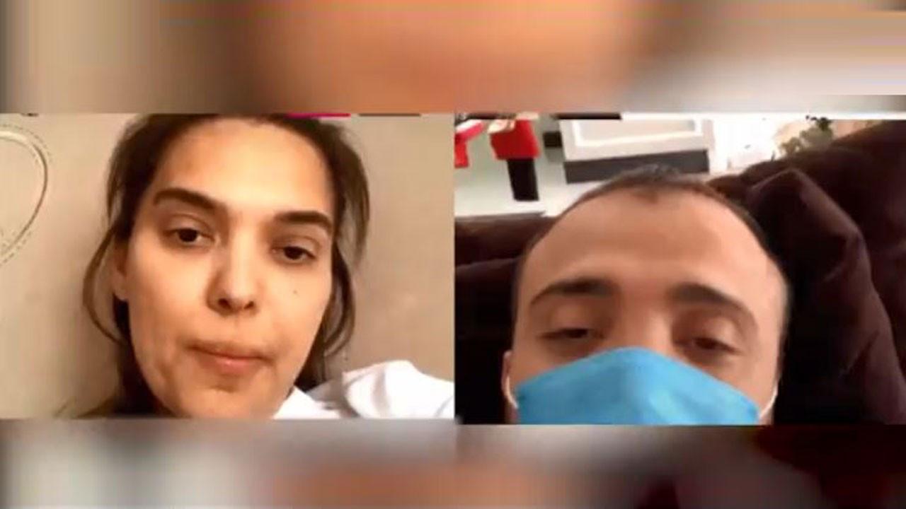 Demet Akalın koronavirüse nasıl yakalandıklarını anlattı: Okan maskesiz playstation oynadı