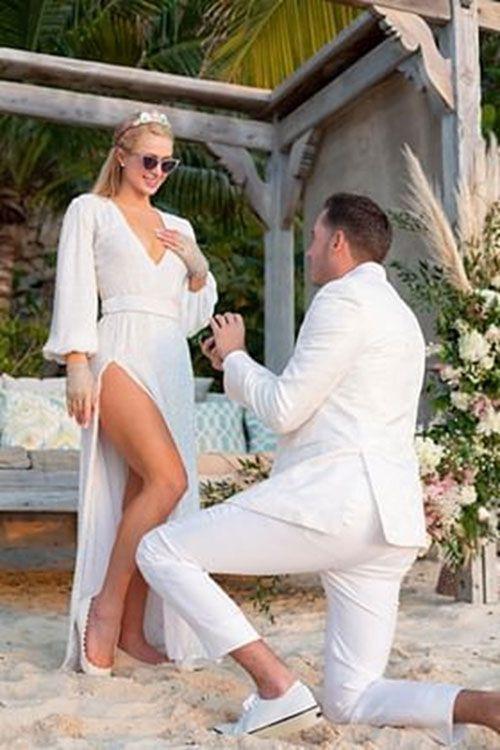 Paris Hilton'a doğum gününde diz çöküp böyle evlenme teklifi etti - Sayfa 2