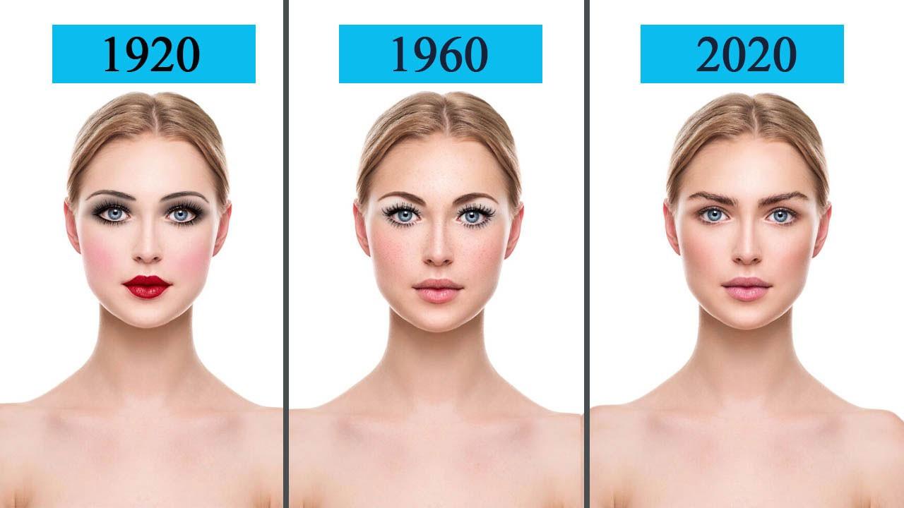 Güzellik trendlerinin 100 yıllık evrimi: Nasıl değişti?