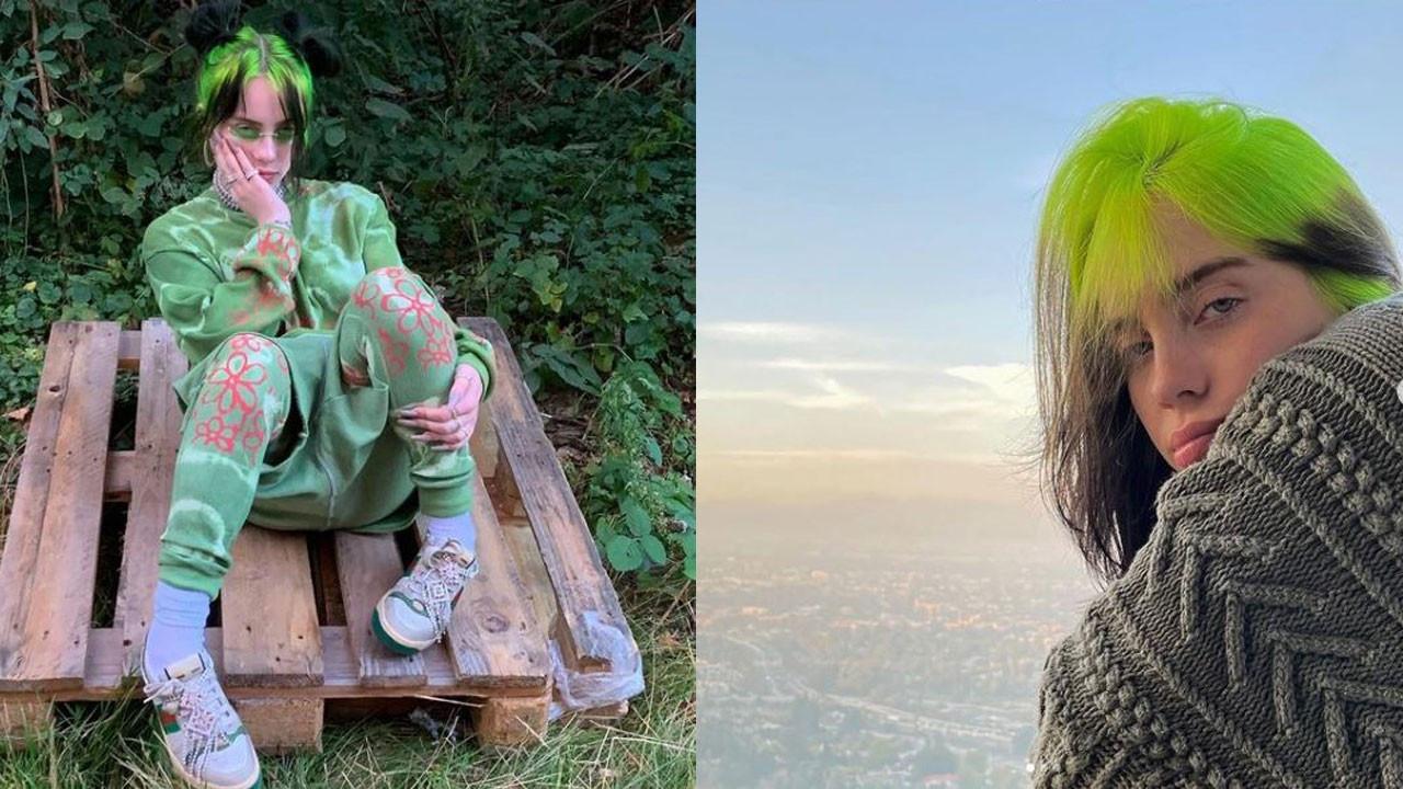 Billie Eilish'ın yeni tarzı rekor getirdi, sosyal medya yıkıldı!