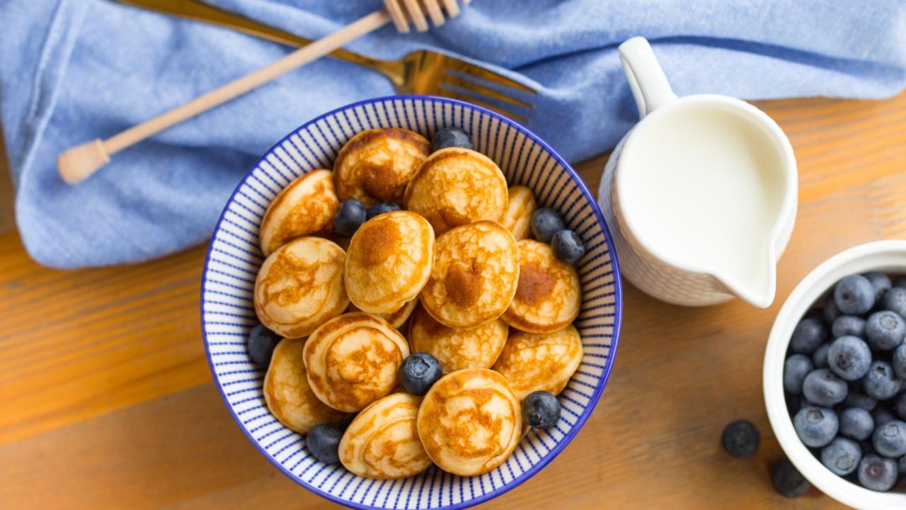 Mini bir pancake tarifi: Bebek pancake'ler