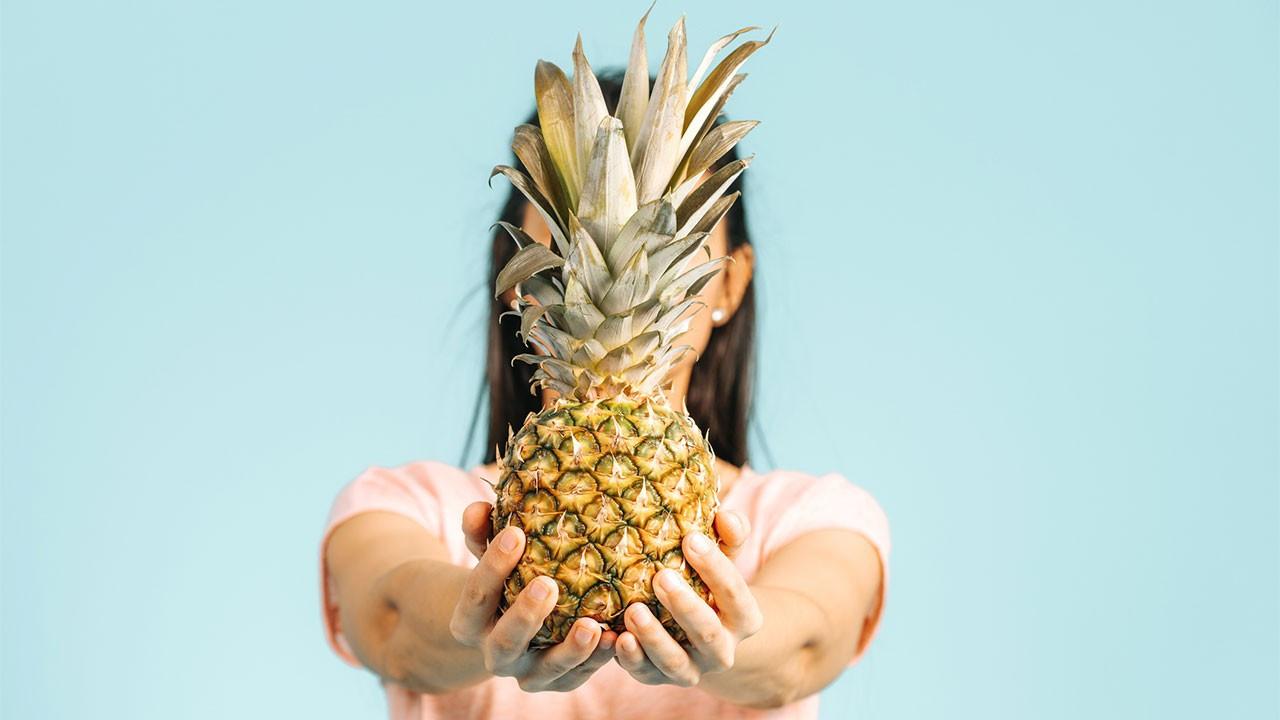 3 günde 3 kilo verdiren ananas diyeti