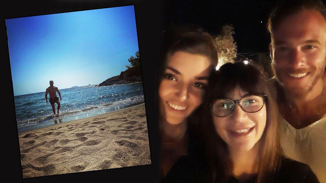 Hande Erçel ve Kerem Bürsin'den yeni fotoğraflar var