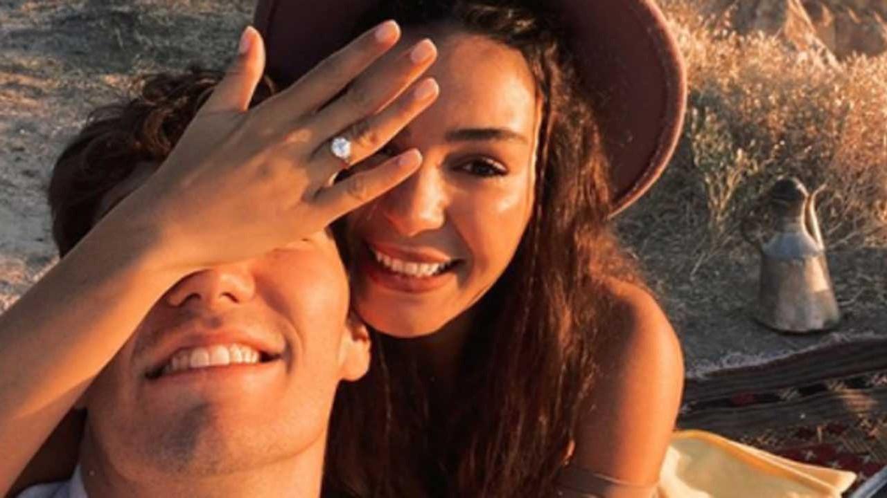 Ebru Şahin ve Cedi Osman evleniyor! Evlilik yüzüğü mercek altında