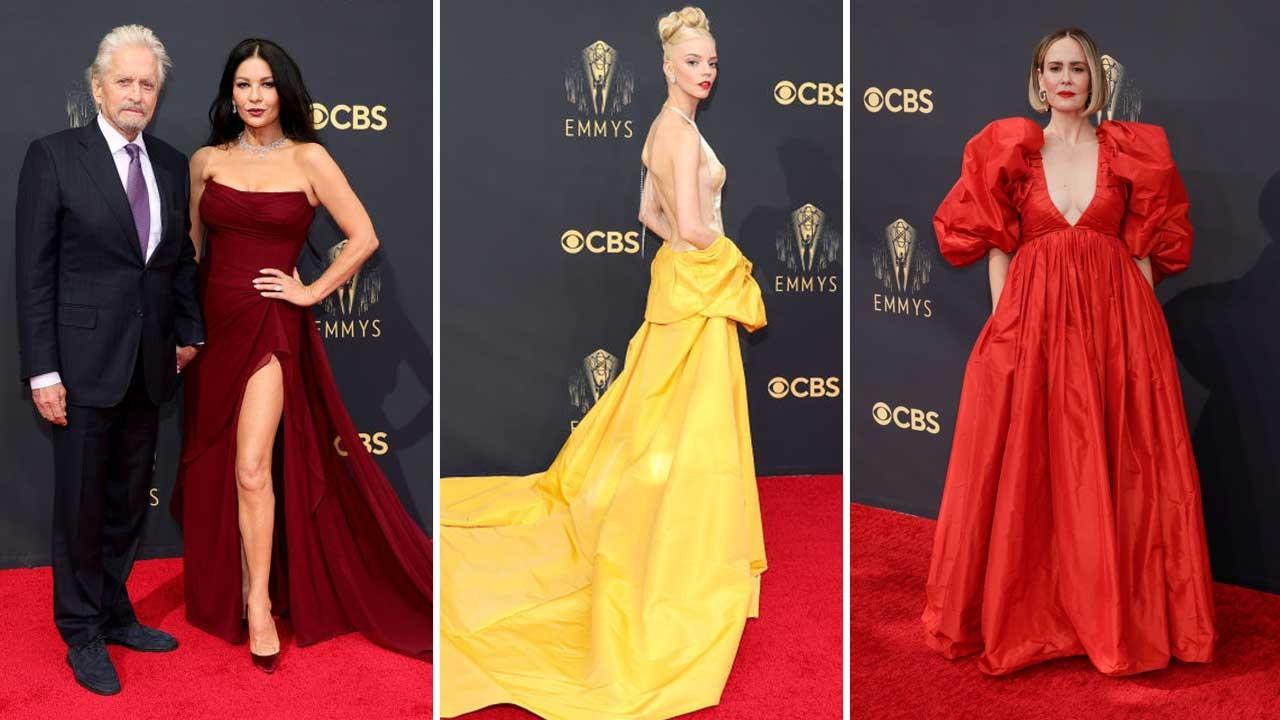 73. Emmy Ödülleri: Kırmızı halıdan görüntüler
