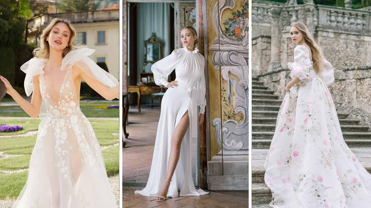 Vakko Wedding 2022 ilkbahar yaz gelinlik modelleri