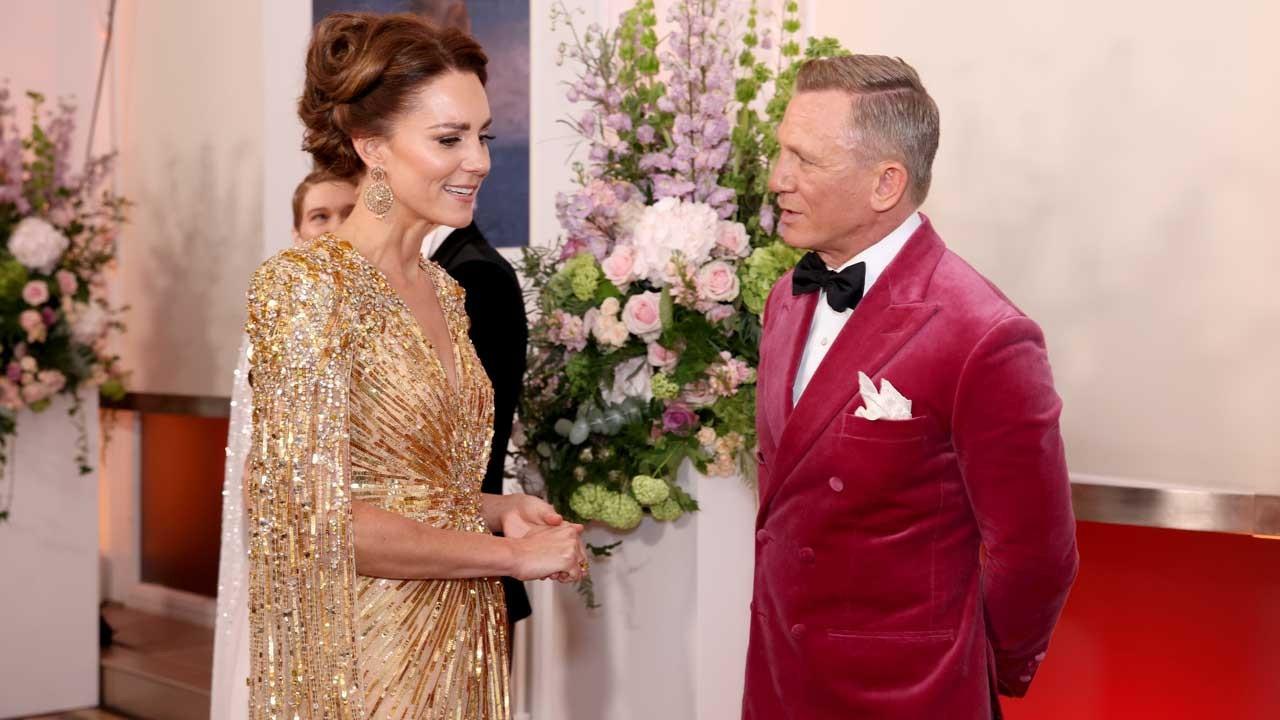 Kate Middleton, James Bond filminin galasında