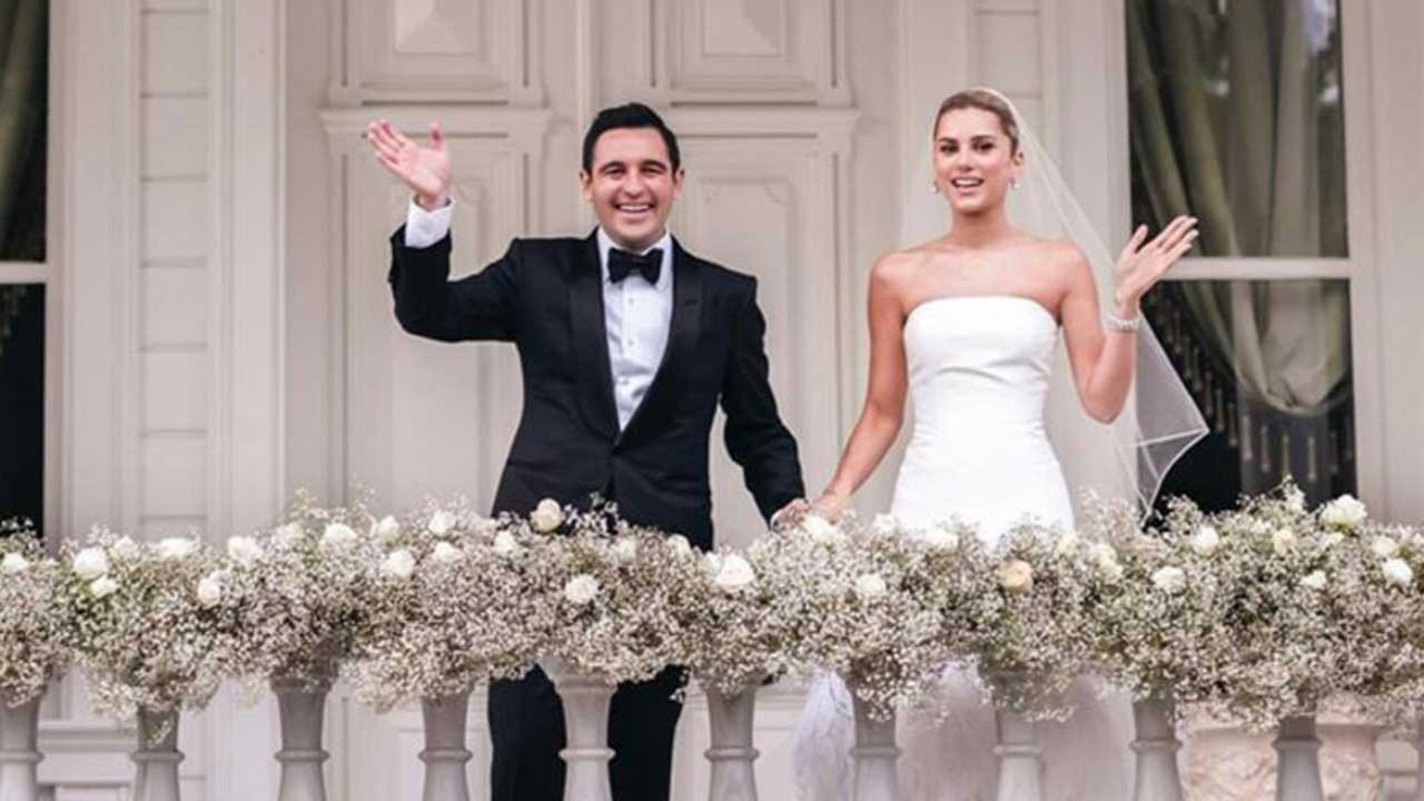 Hacı Sabancı ile Nazlı Kayı evlendi: Nikahtan notlar