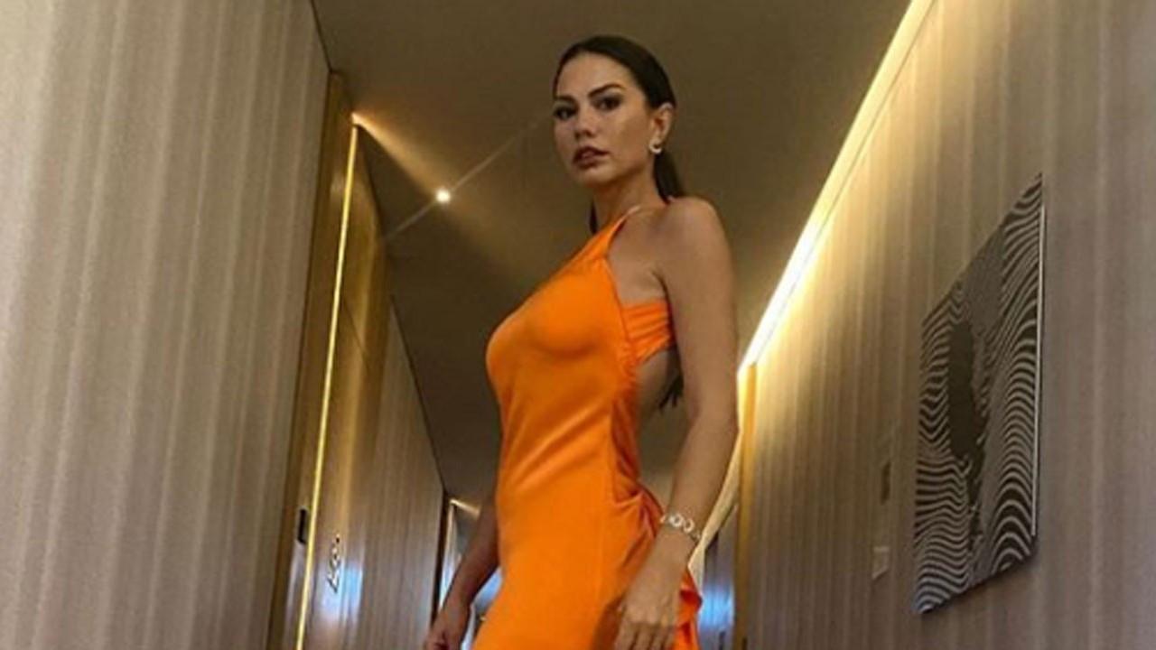 Demet Özdemir'den 'turuncu' paylaşım