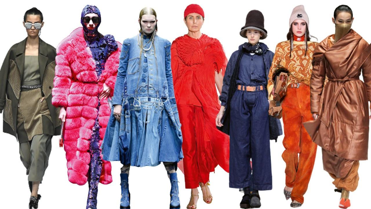 2021-2022 Sonbahar-Kış modası renk skalası: Favoriler