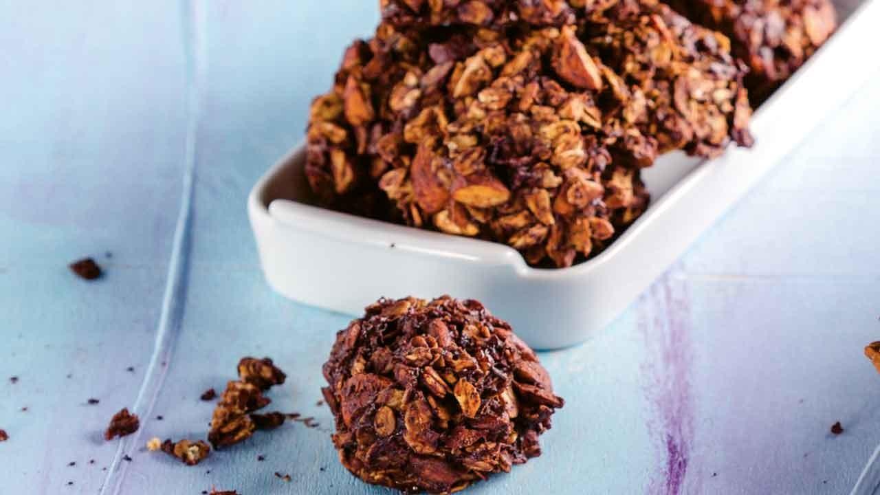 Yulaflı çikolatalı kurabiye tarifi