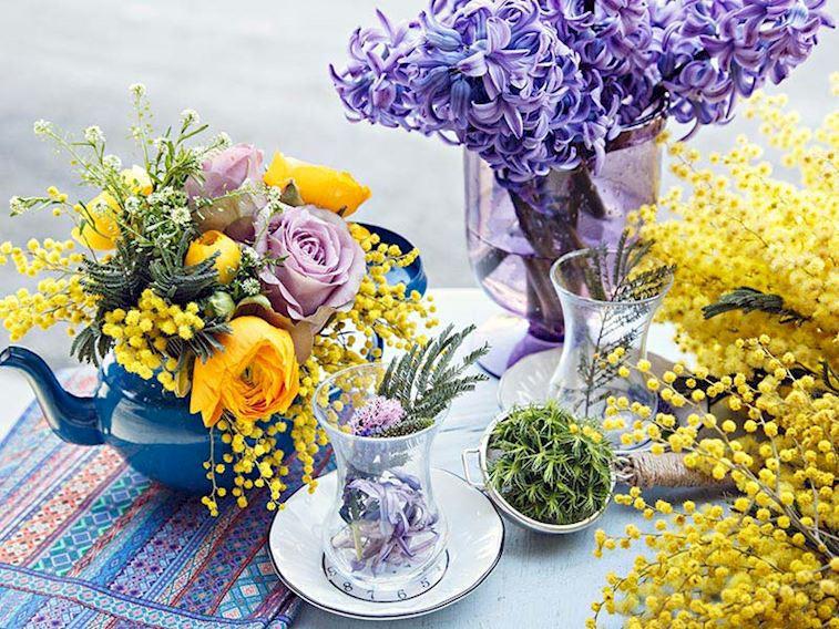 Şehrin ortasında floral bir festival!
