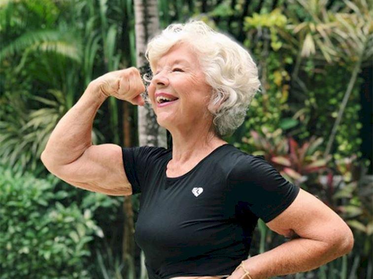 74 yaşındaki fitness uzmanından 'fit'lik tavsiyeler