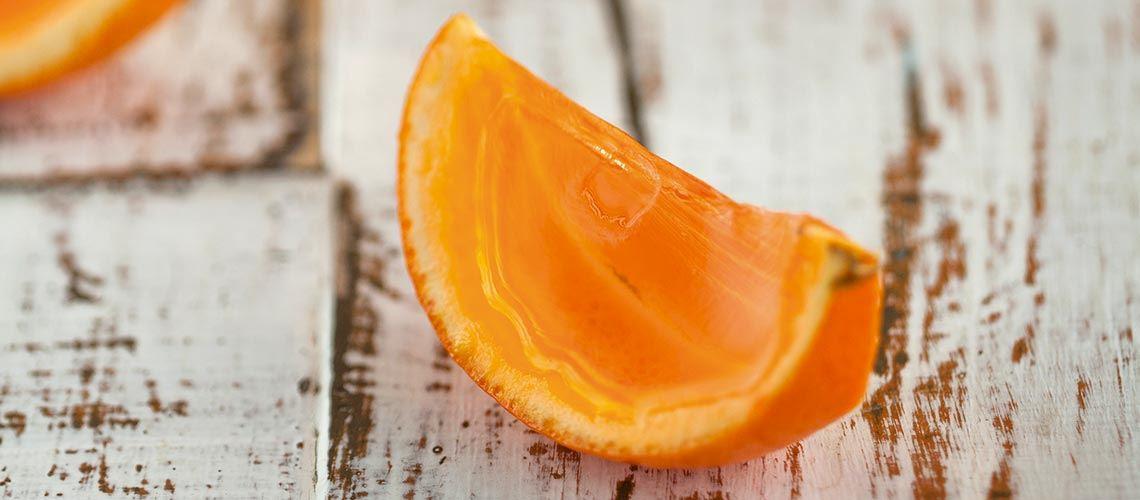 Portakal jöle dilimleri