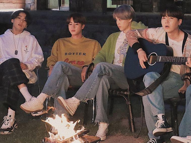 Güney Koreli K-Pop grubu BTS yeni albüm yayınladı
