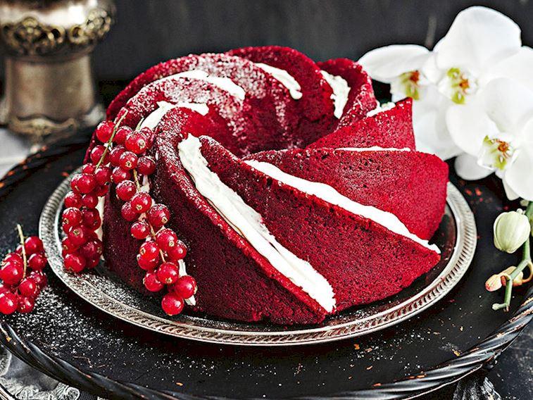 Kımızı velvet kek