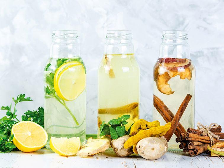 Tatlı isteğini azaltan detoks suyu
