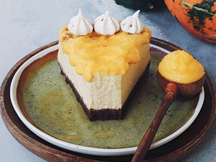 Bal kabaklı ve baharatlı cheesecake