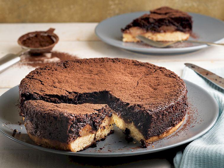 Armutlu çikolatalı kek