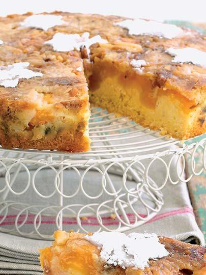 Ters kayısılı kek