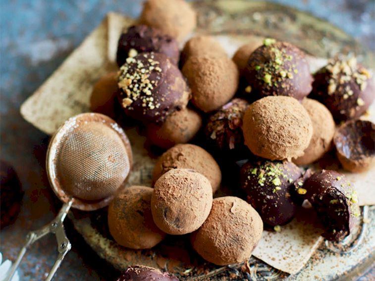 Ev yapımı truffle