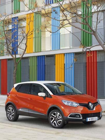 Renault Captur, otomobilde yeni bir sayfa açıyor!'