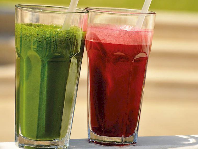 Yeşil smoothie&Kırmızı smoothie